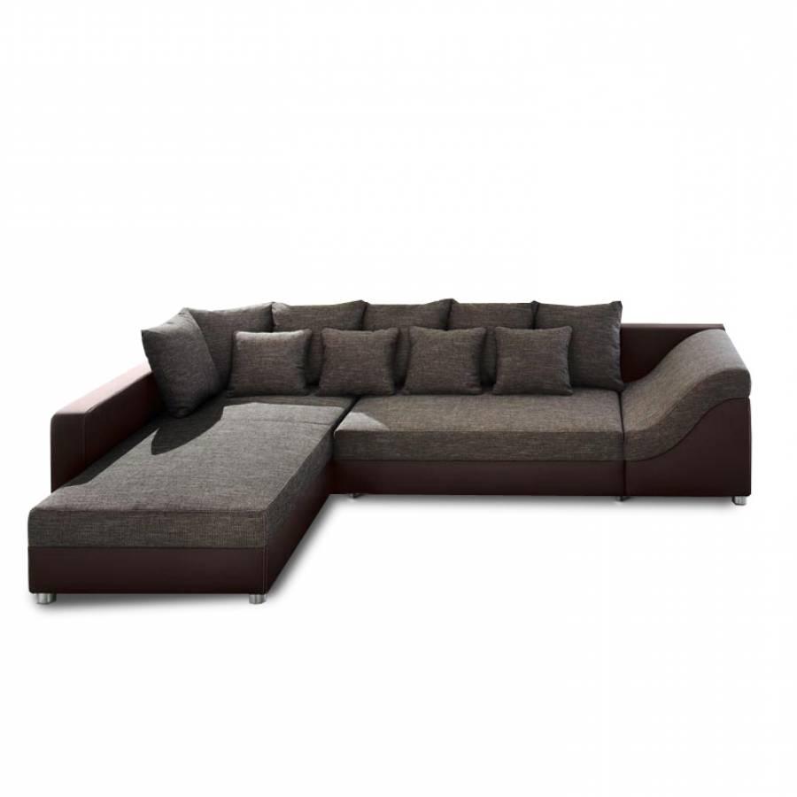 home design ecksofa mit longchair f r ein modernes zuhause home24. Black Bedroom Furniture Sets. Home Design Ideas