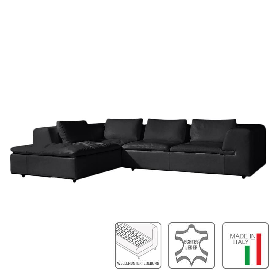 Ecksofa mit longchair von trend italiano bei home24 for Ecksofa trends