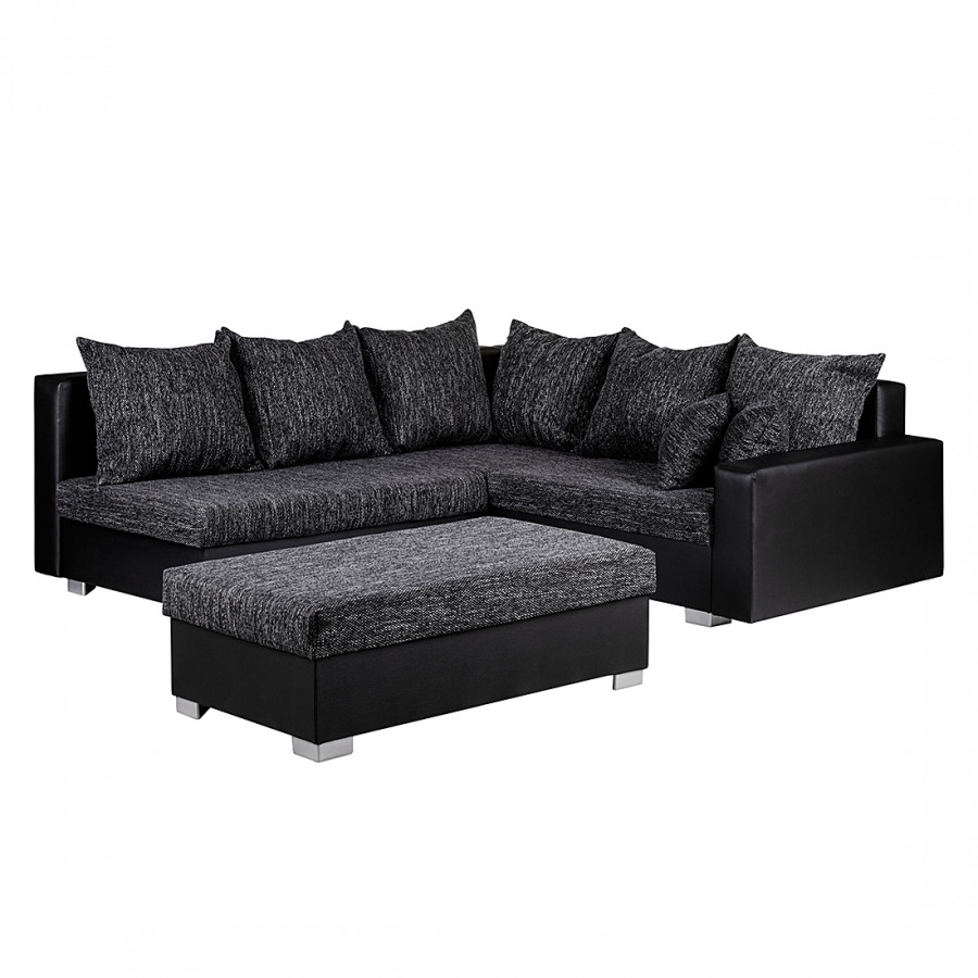 sch n funktional ecksofa sibenik mit hocker von mooved home24. Black Bedroom Furniture Sets. Home Design Ideas