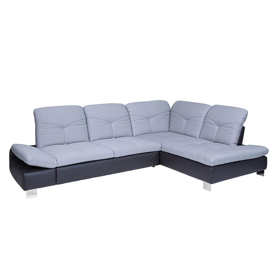 Jetzt bei home24 sofa mit schlaffunktion von trendline by for Kunstleder ecksofa