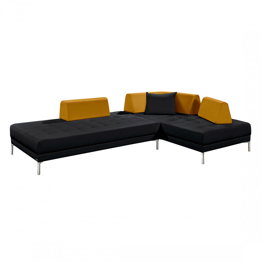 ecksofa mit longchair von arte m bei home24 bestellen home24. Black Bedroom Furniture Sets. Home Design Ideas