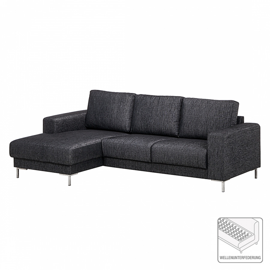 ecksofa mit longchair von fredriks bei home24 kaufen home24. Black Bedroom Furniture Sets. Home Design Ideas