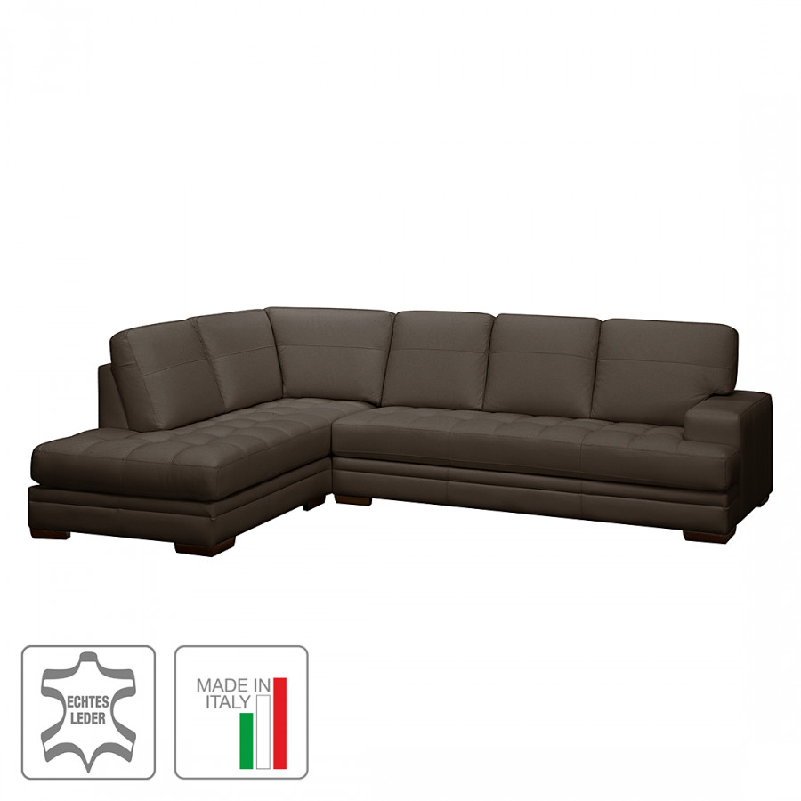 ecksofa mit longchair von trend italiano bei home24 kaufen. Black Bedroom Furniture Sets. Home Design Ideas