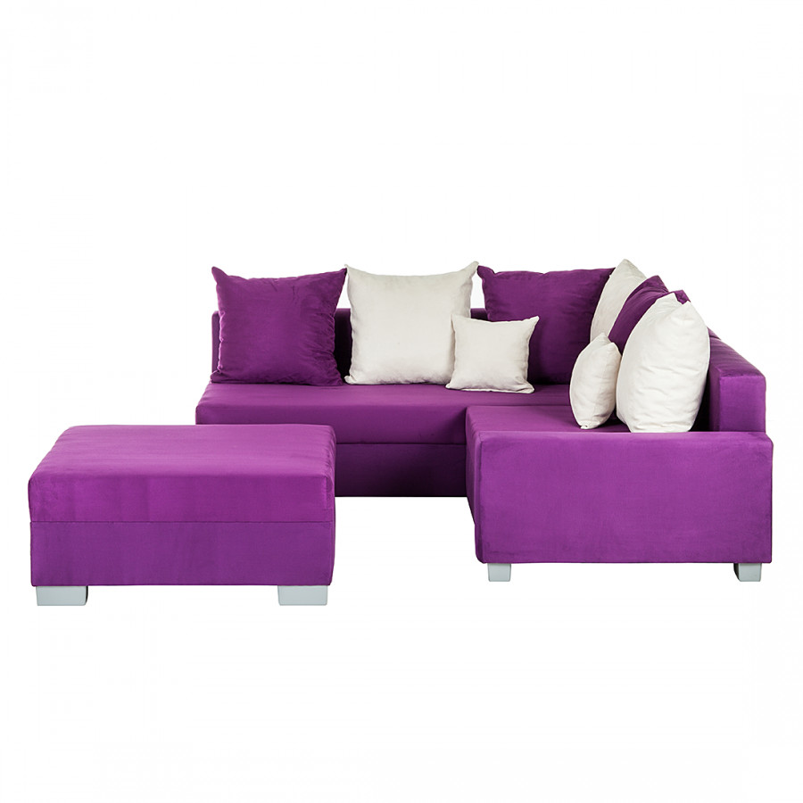 canap d angle venus violet bon prix. Black Bedroom Furniture Sets. Home Design Ideas