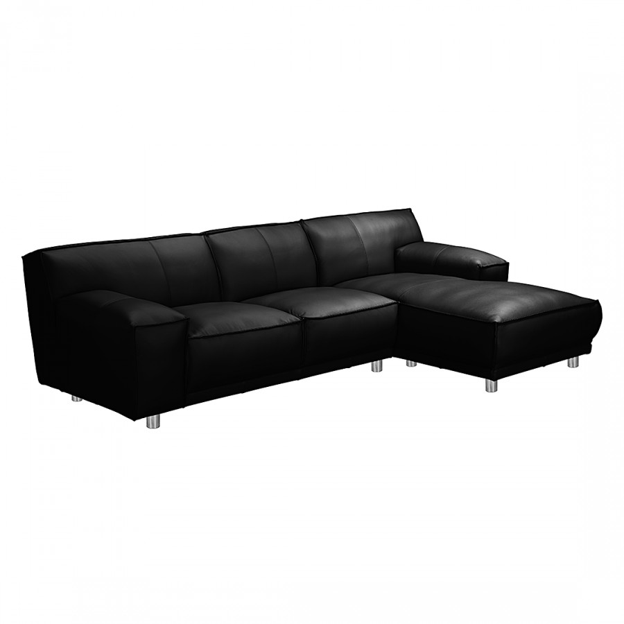 loftscape ecksofa mit longchair f r ein modernes heim home24. Black Bedroom Furniture Sets. Home Design Ideas