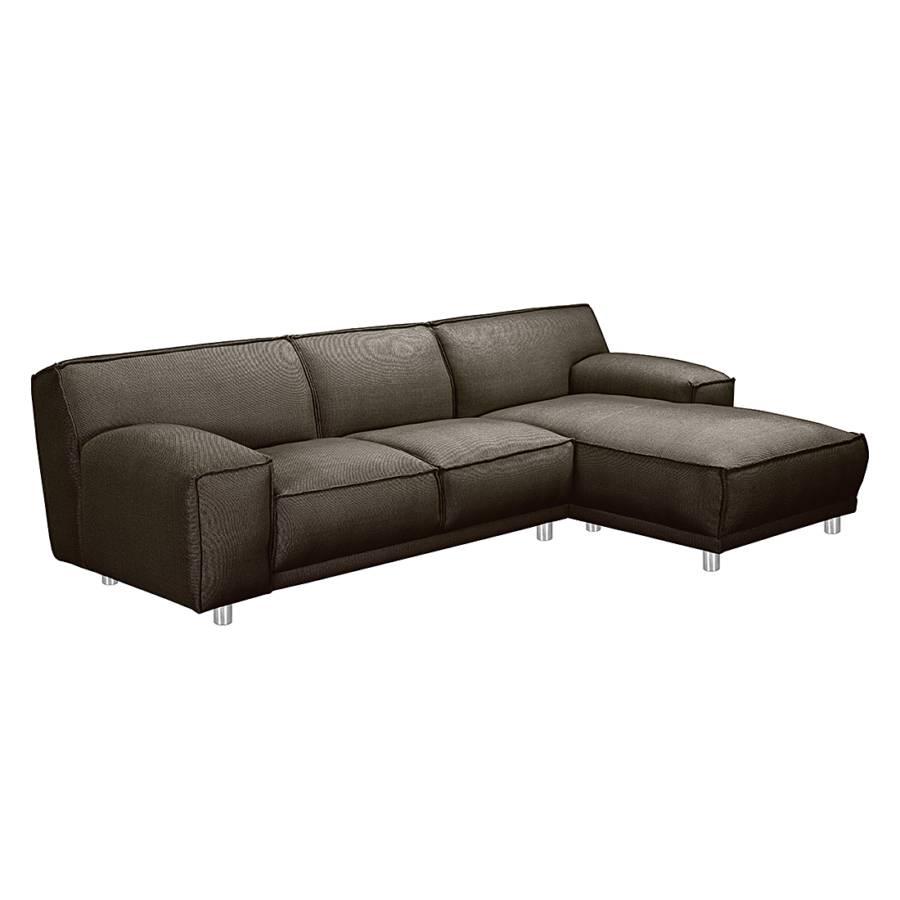 loftscape ecksofa mit longchair f r ein modernes heim home24. Black Bedroom Furniture Sets. Home Design Ideas