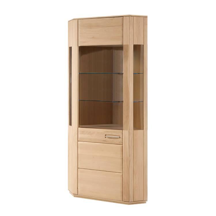 vitrine d 39 angle structura h tre partiellement massif huil. Black Bedroom Furniture Sets. Home Design Ideas