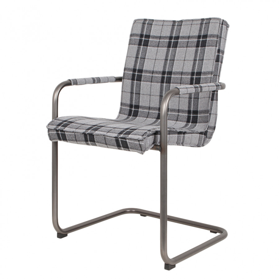 Chaise de salle manger scotty wolle gris - Chaise salle a manger gris ...