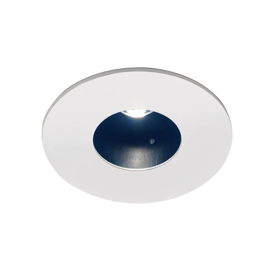 luminaire encastr lenta fixed argent 3 ampoules. Black Bedroom Furniture Sets. Home Design Ideas