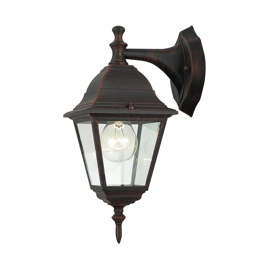 Luminaire encastr newport m tal verre 1 ampoule for Luminaire metal