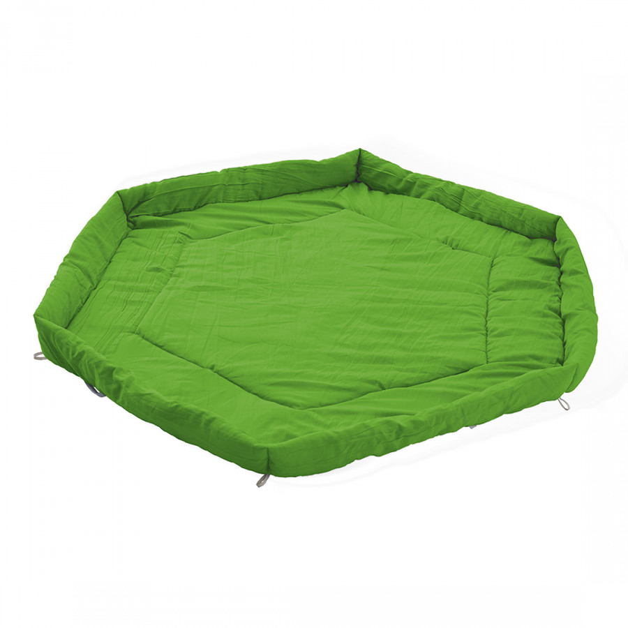 matelas pour parc b b vert uni. Black Bedroom Furniture Sets. Home Design Ideas