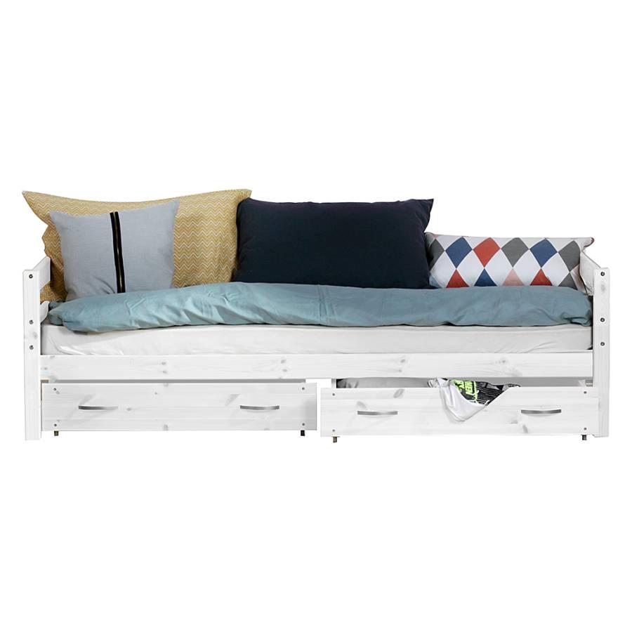 einzelbett hit mit absturzsicherung. Black Bedroom Furniture Sets. Home Design Ideas