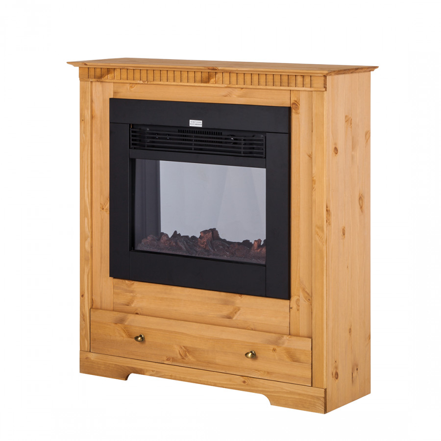 elektrokamin kaya kiefer massiv home24. Black Bedroom Furniture Sets. Home Design Ideas