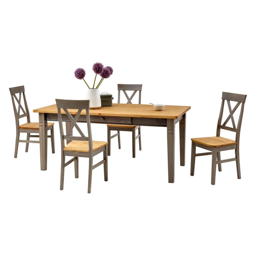 landhaus classic essgruppe f r ein l ndliches heim home24. Black Bedroom Furniture Sets. Home Design Ideas