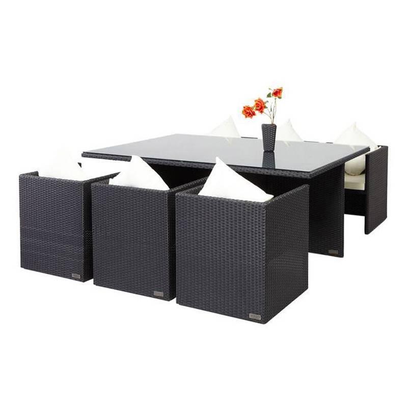 essgruppe f r 6 personen 7 teilig st hle komplett. Black Bedroom Furniture Sets. Home Design Ideas