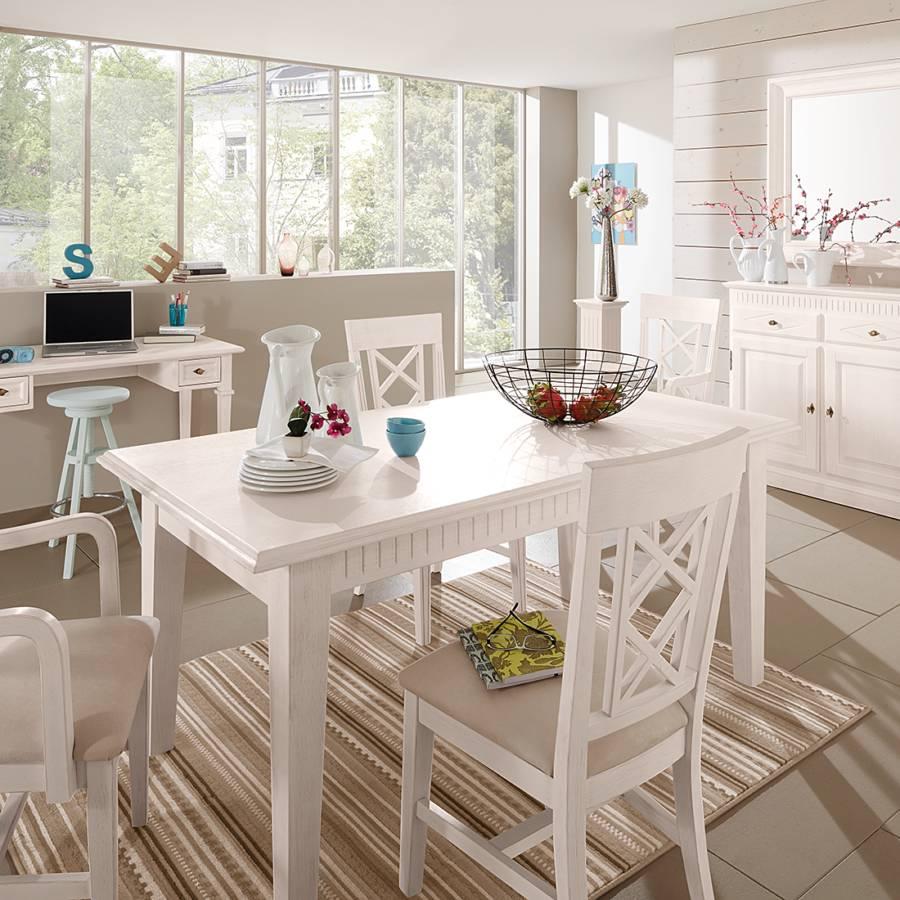 landhaus classic ausziehtisch f r ein klassisch l ndliches heim home24. Black Bedroom Furniture Sets. Home Design Ideas
