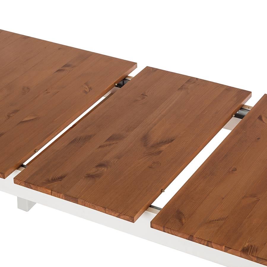 Esstisch louis ausziehbar kiefer home24 for Esstisch 80 cm breit