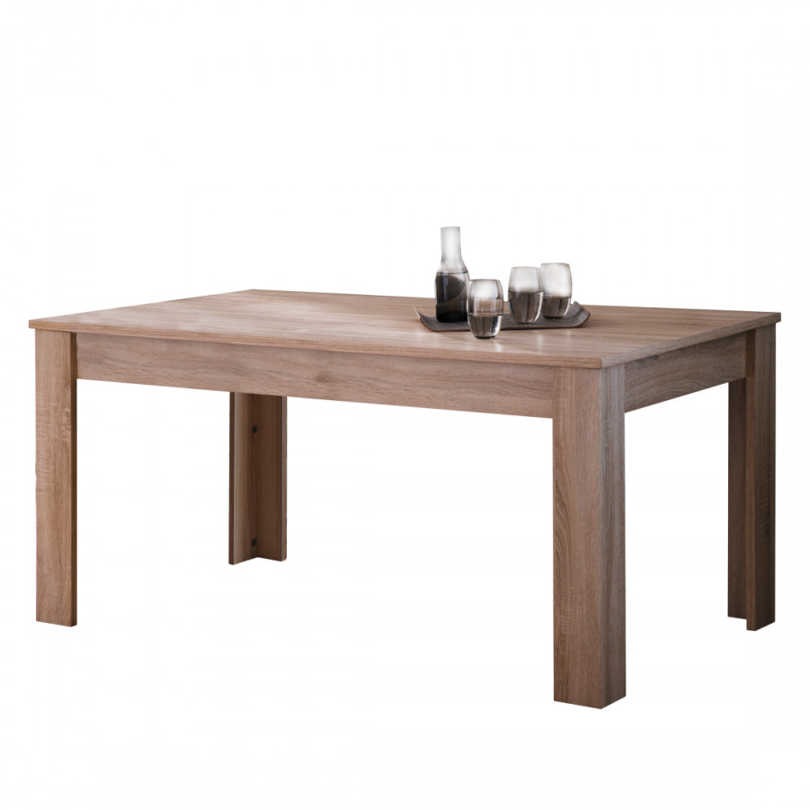 Table manger marseille ch ne brut de sciage for Table en chene brut
