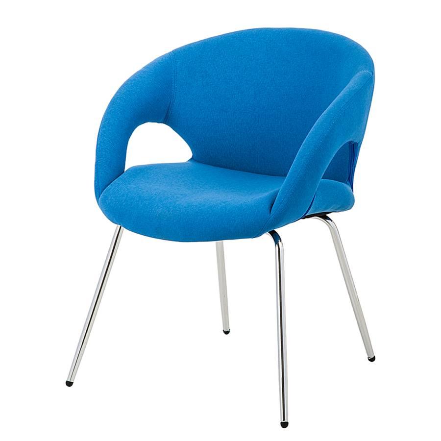 Chaise de salle manger guiseppe tissu for Chaise salle a manger home24
