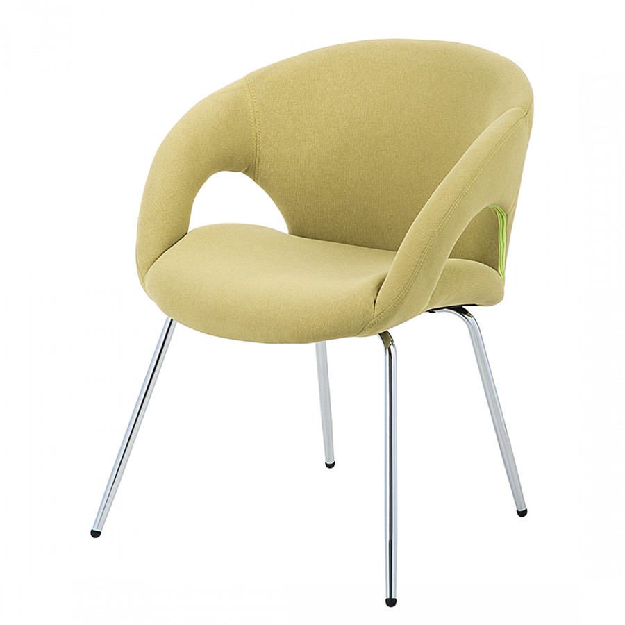 Chaise de salle manger guiseppe polyester for Chaise salle a manger home24