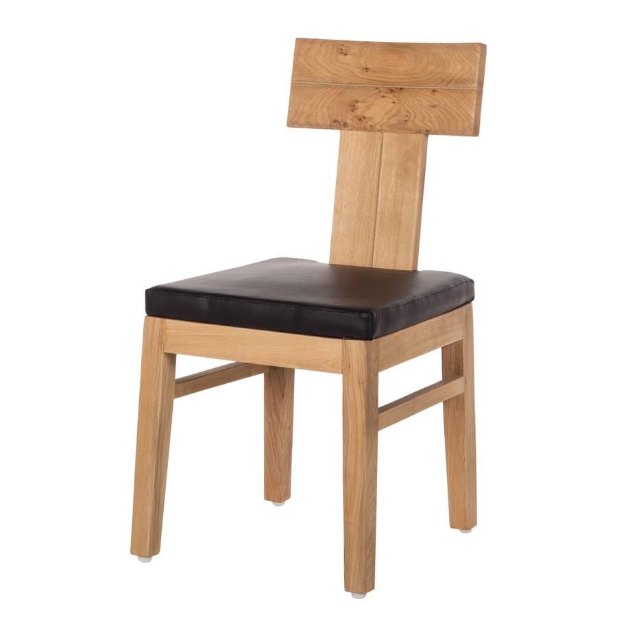 esszimmerstuhl maine 2er set kunstleder eiche. Black Bedroom Furniture Sets. Home Design Ideas