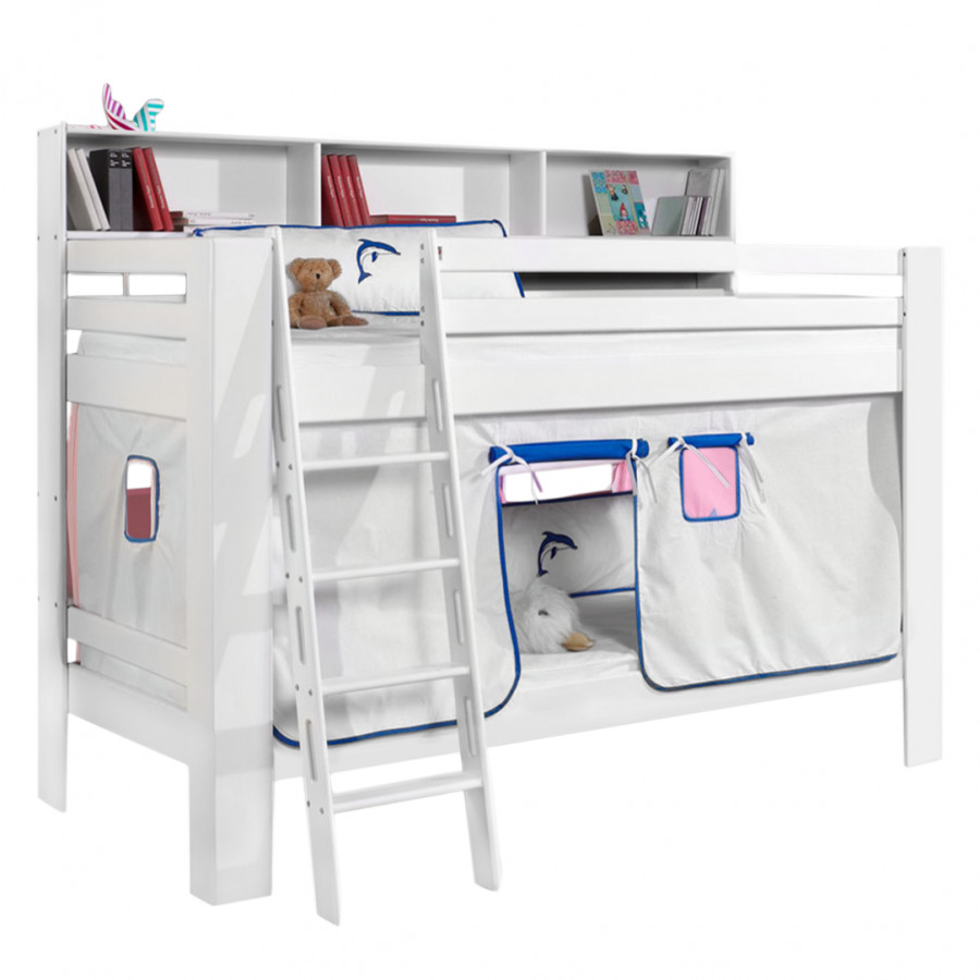 etagenbett jan buche massiv baumwolle home24. Black Bedroom Furniture Sets. Home Design Ideas