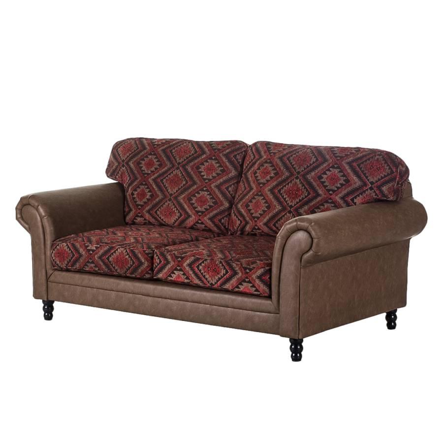 Furnlab 2 sitzer einzelsofa f r ein l ndliches zuhause home24 - Sofa antiklederoptik ...