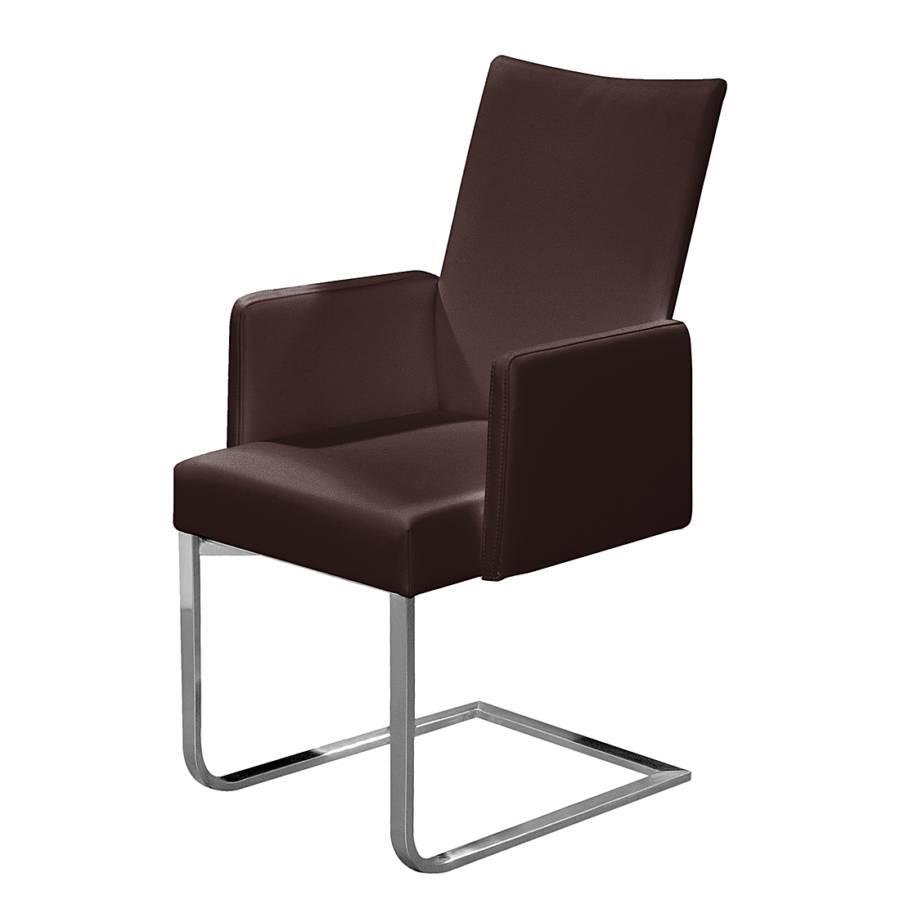 freischwinger set i echtleder braun home24. Black Bedroom Furniture Sets. Home Design Ideas