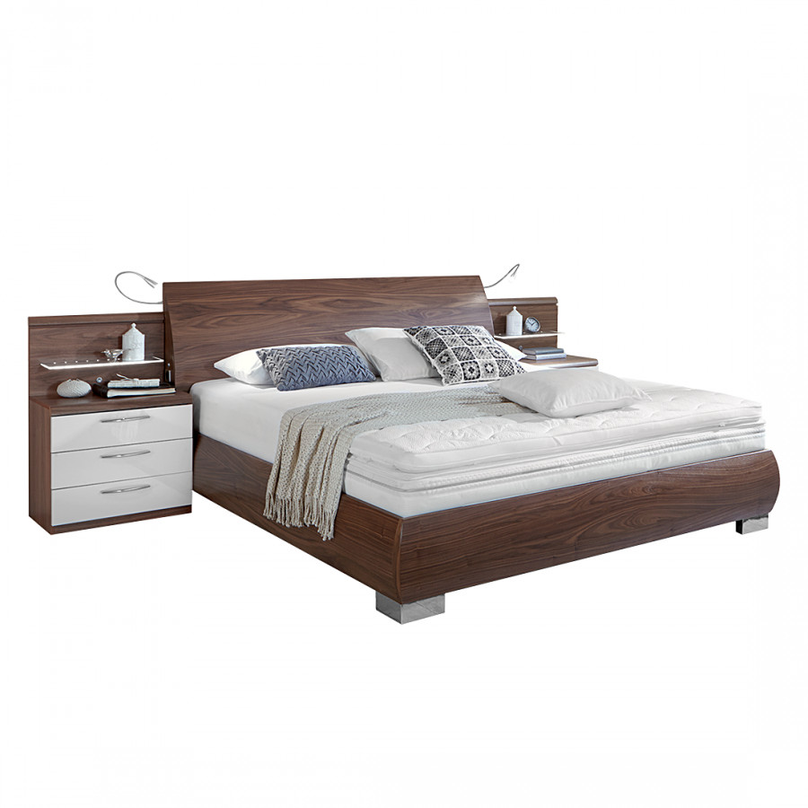 jetzt bei home24 bett von woodspring home24. Black Bedroom Furniture Sets. Home Design Ideas