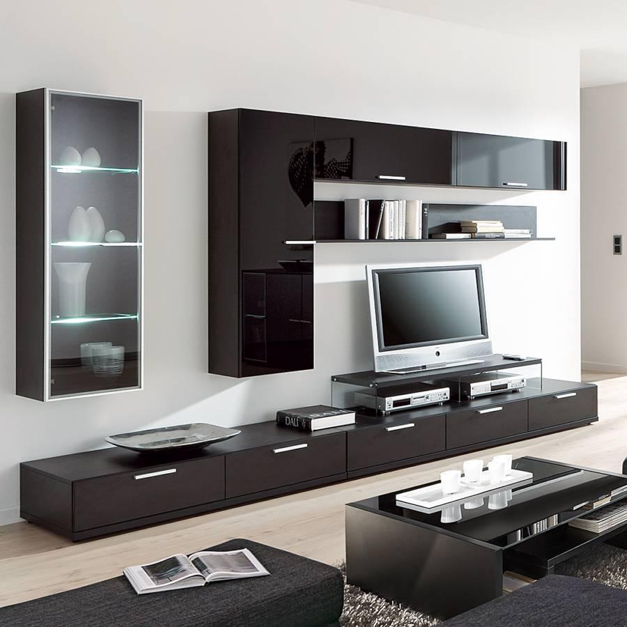 arte m wohnwand f r ein modernes zuhause home24. Black Bedroom Furniture Sets. Home Design Ideas