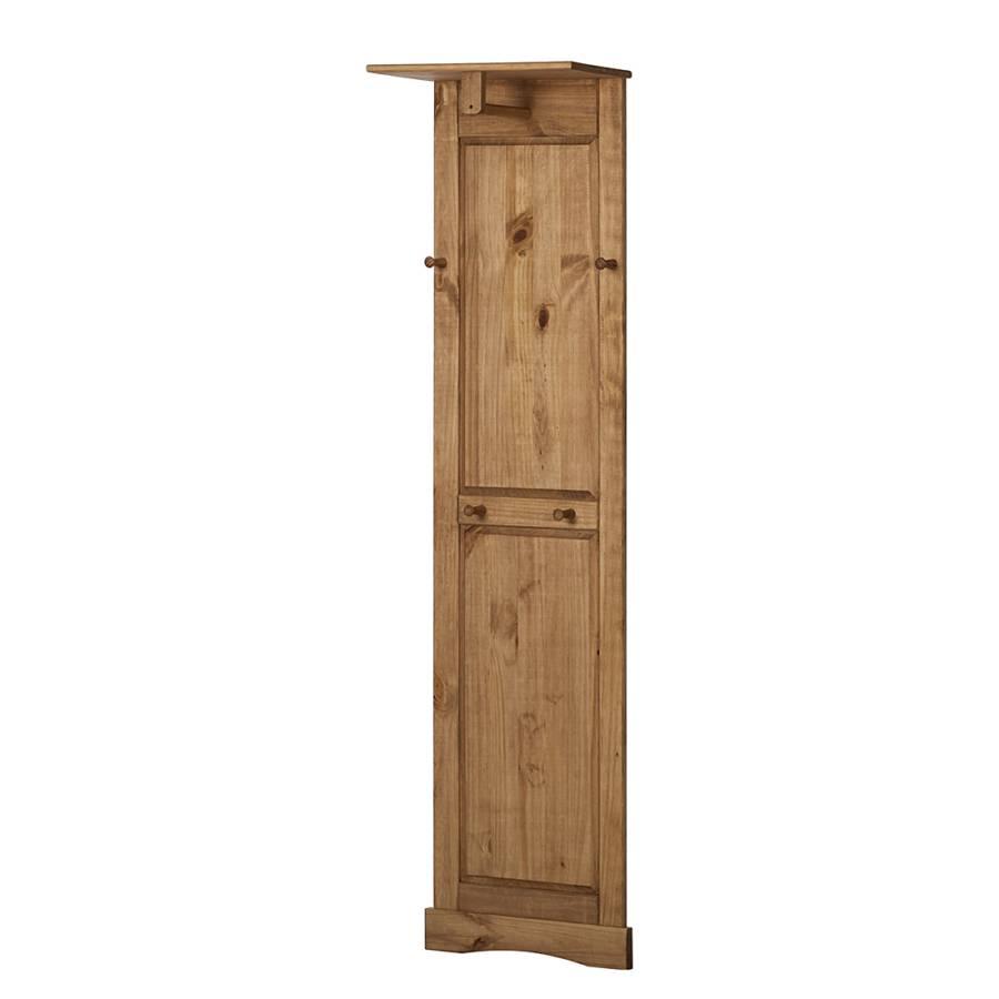 garderobe finca rustica kiefer massiv home24. Black Bedroom Furniture Sets. Home Design Ideas