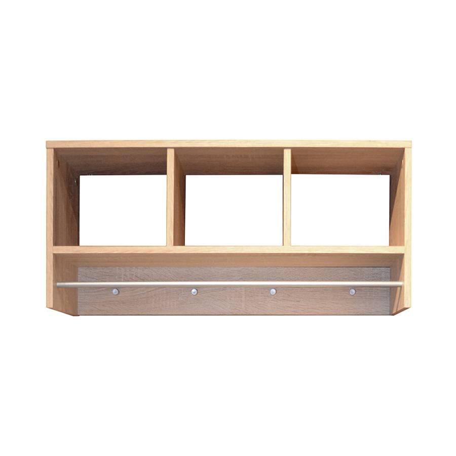 garderobe leaf eiche s gerau dekor home24. Black Bedroom Furniture Sets. Home Design Ideas