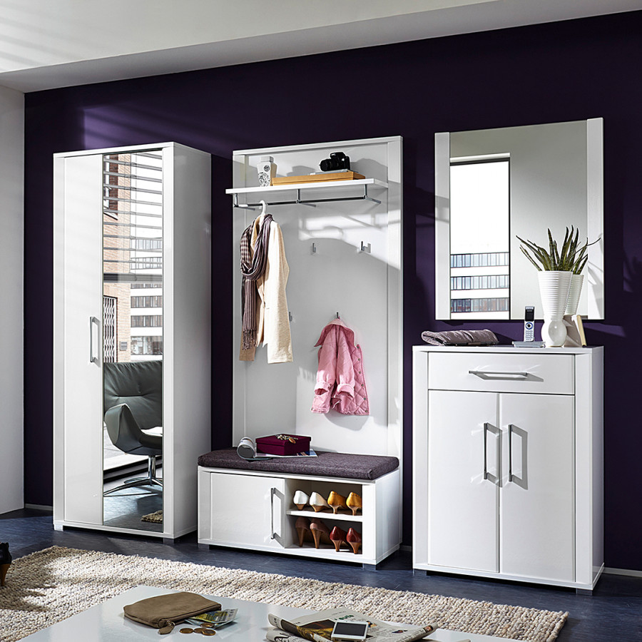 Home24 moderne modoform garderobe home24 for Flurgarderobe modern