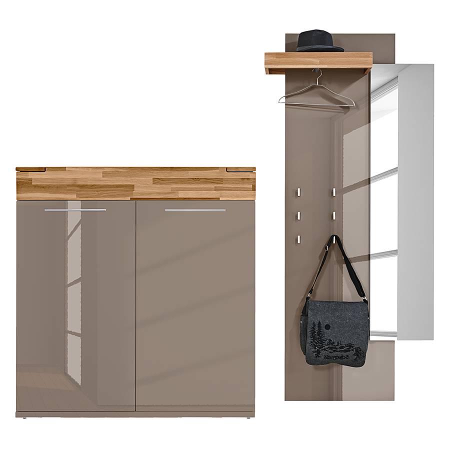home24 modernes arte m garderobenset home24. Black Bedroom Furniture Sets. Home Design Ideas