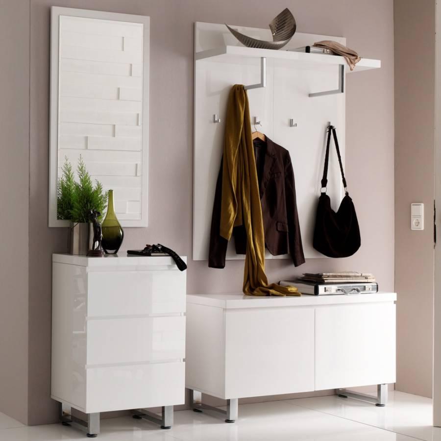 garderobenm bel set canaria 5 teilig mdf metall home24. Black Bedroom Furniture Sets. Home Design Ideas