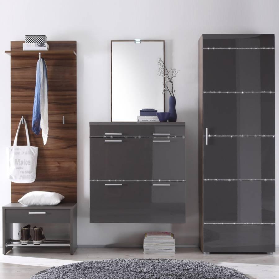 garderobenm bel set zocalo 5 teilig home24. Black Bedroom Furniture Sets. Home Design Ideas