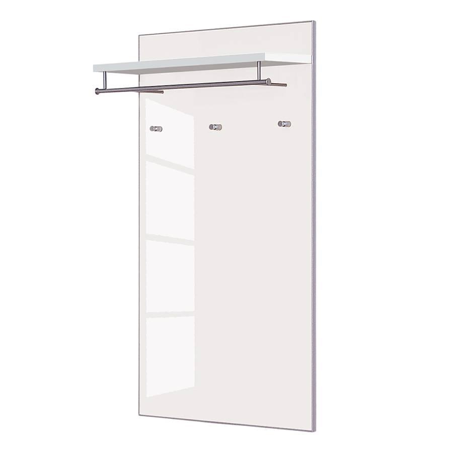 garderobenpaneel alves iii wei glas wei home24. Black Bedroom Furniture Sets. Home Design Ideas