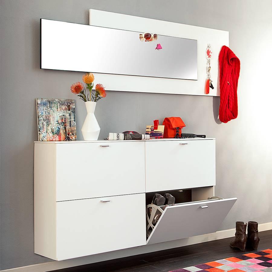 ensemble de vestibule avec miroir 2 l ments. Black Bedroom Furniture Sets. Home Design Ideas