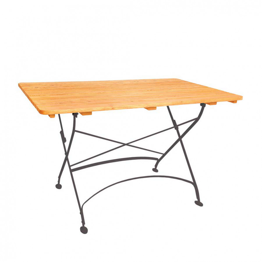 garten klapptisch canestro robinie massivholz stahl home24. Black Bedroom Furniture Sets. Home Design Ideas