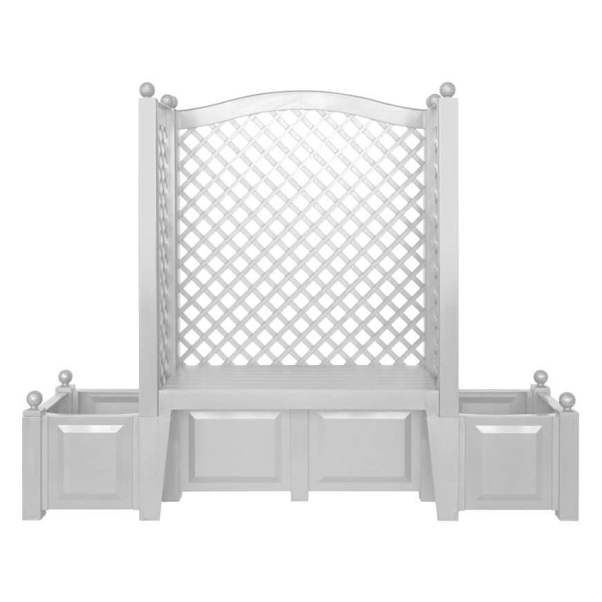 gartenbank florana ii mit spalier home24. Black Bedroom Furniture Sets. Home Design Ideas