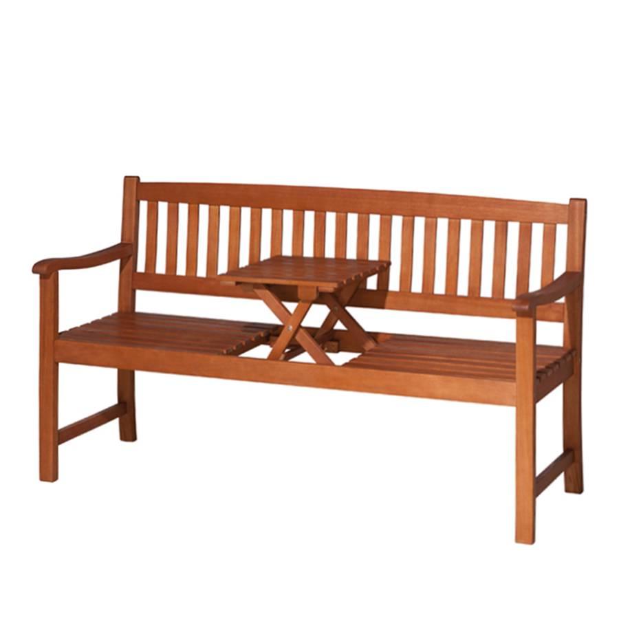 gartenbank florida 2 sitzer mit klapptisch online kaufen home24. Black Bedroom Furniture Sets. Home Design Ideas
