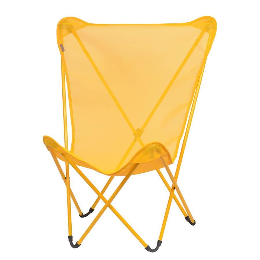 fauteuil de jardin maxi pop up jaune. Black Bedroom Furniture Sets. Home Design Ideas
