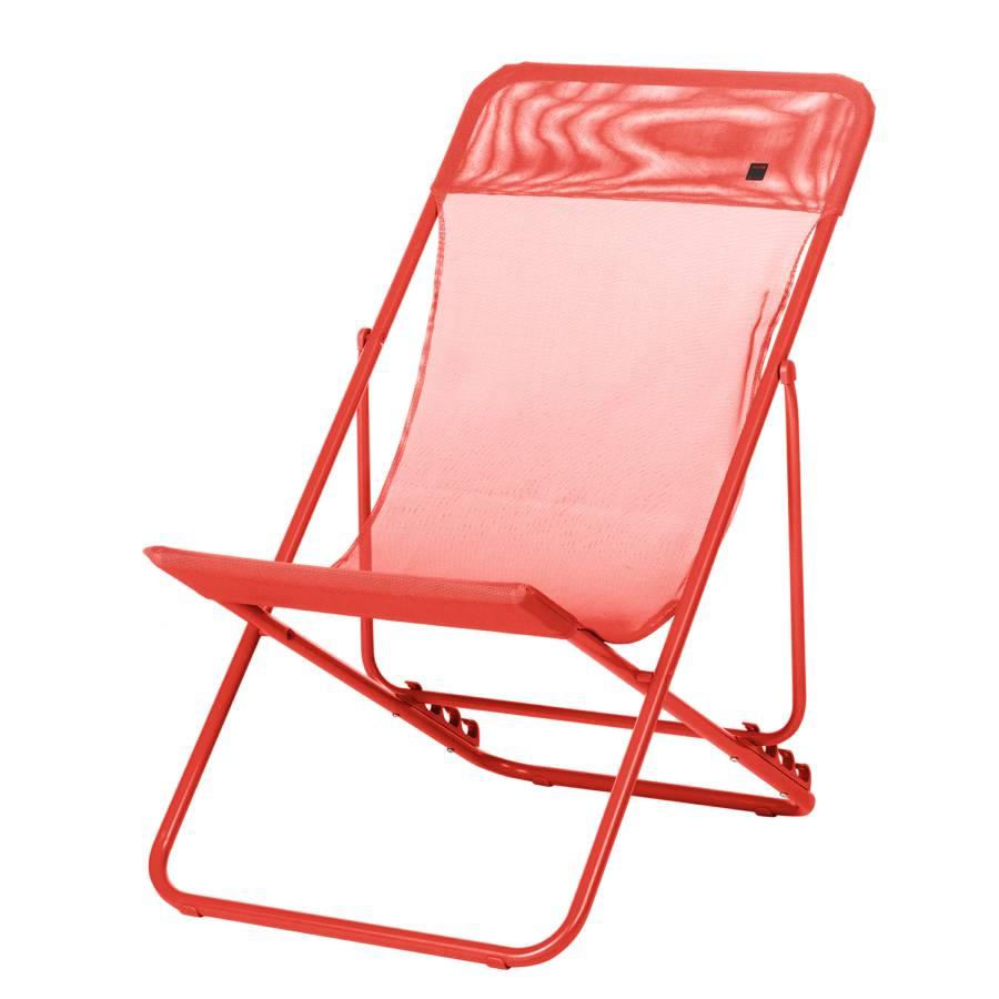tuinfauteuil maxi transat rood. Black Bedroom Furniture Sets. Home Design Ideas