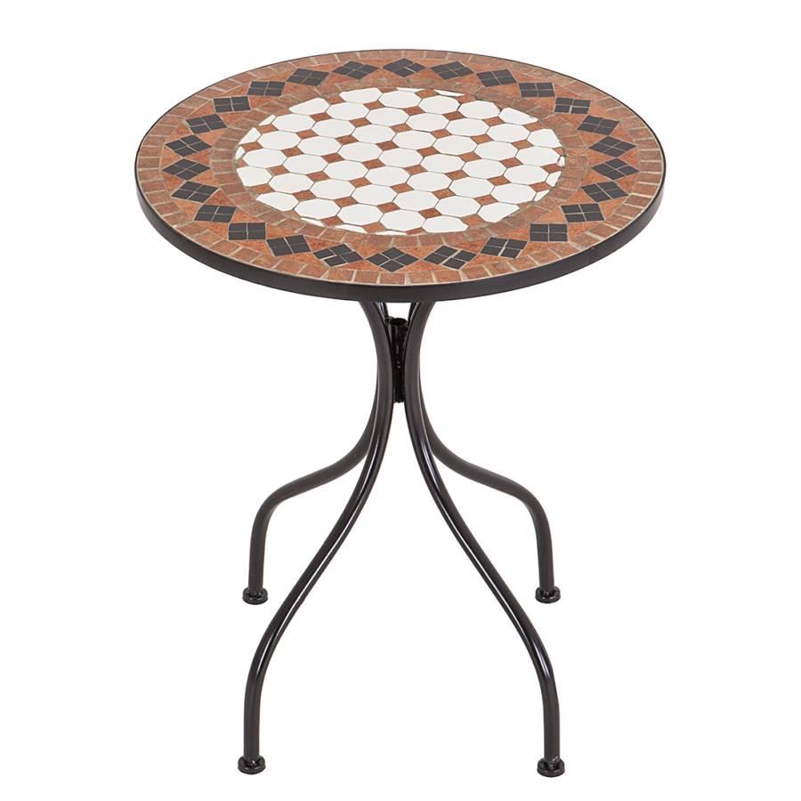 gartentisch aurelia ii metall mosaik home24. Black Bedroom Furniture Sets. Home Design Ideas