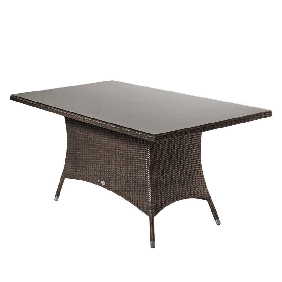gartentisch luna ii polyrattan home24. Black Bedroom Furniture Sets. Home Design Ideas