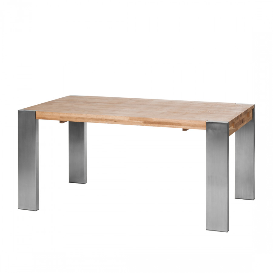 Table rallonge gustave ch ne massif - Table massif rallonge ...