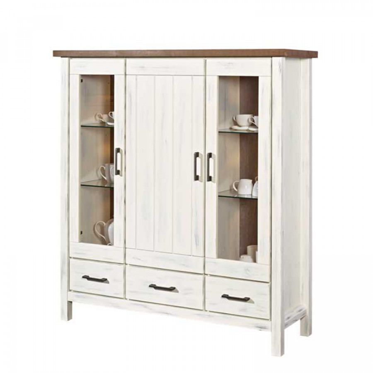 highboard jimdira wei braun home24. Black Bedroom Furniture Sets. Home Design Ideas