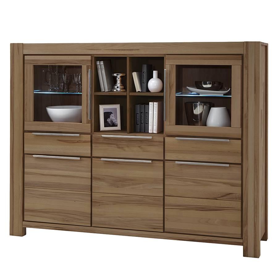 highboard pia ii wildeiche massiv home24. Black Bedroom Furniture Sets. Home Design Ideas