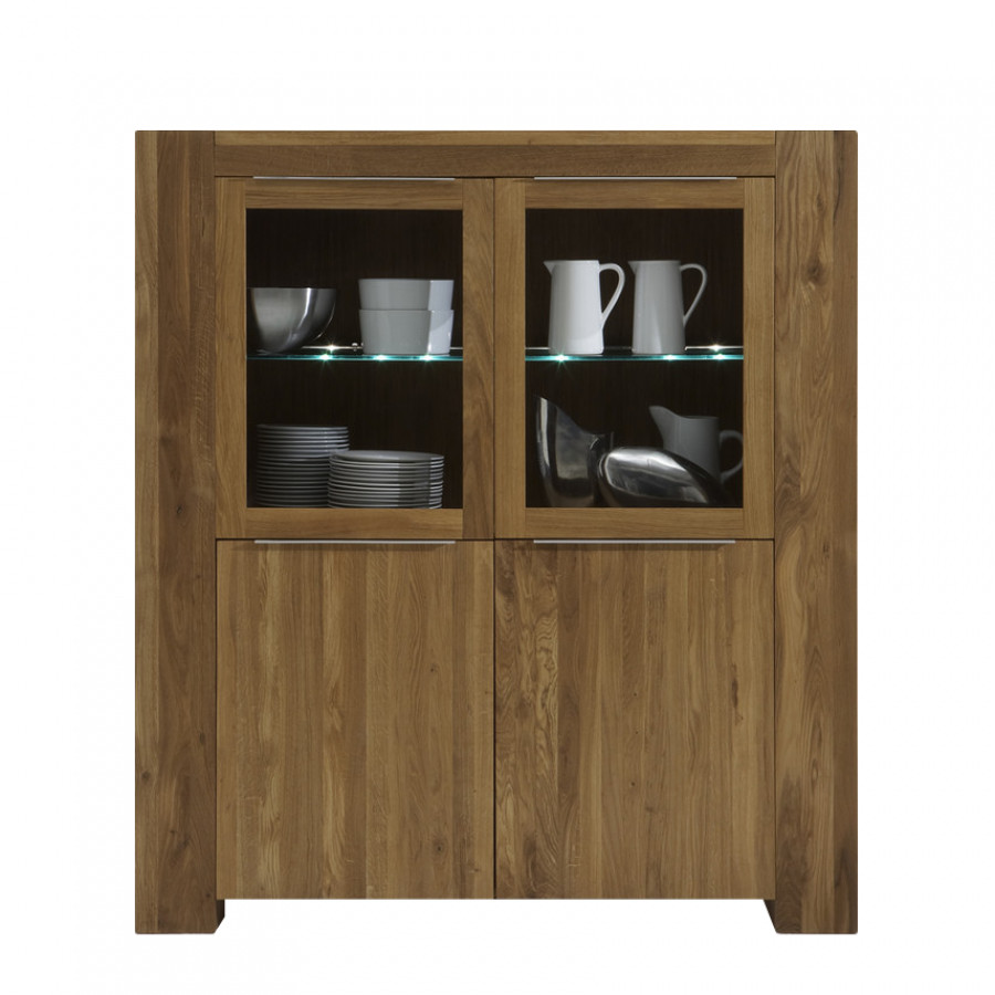 highboard san sebastian eiche massiv home24. Black Bedroom Furniture Sets. Home Design Ideas