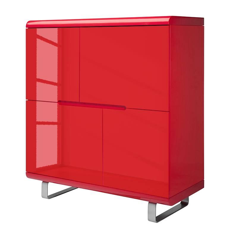 Rote kommode hochglanz innenraume und mobel ideen for Rote kommode hochglanz